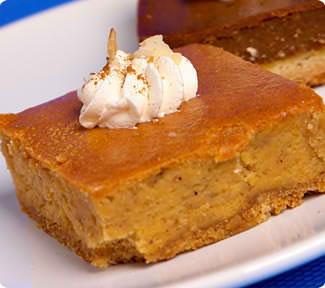 Pumpkin Cheese Cakes