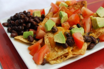 Diabetic Friendly Nachos